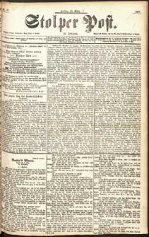 Stolper Post Nr. 72/1897