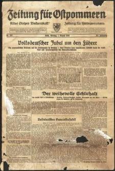Zeitung für Ostpommern Nr. 177/1938