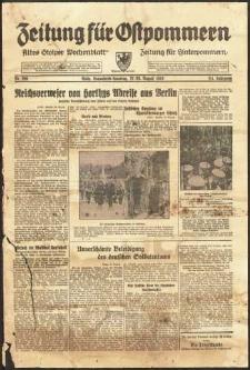 Zeitung für Ostpommern Nr. 200/1938