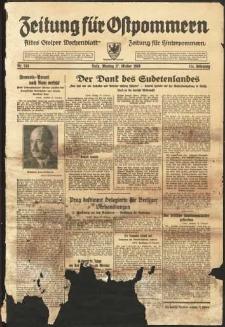 Zeitung für Ostpommern Nr. 243/1938