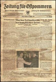 Zeitung für Ostpommern Nr. 244/1938