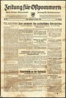 Zeitung für Ostpommern Nr. 245/1938