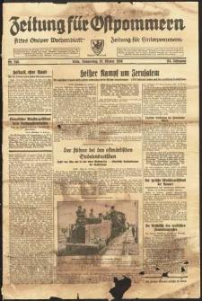 Zeitung für Ostpommern Nr. 246/1938