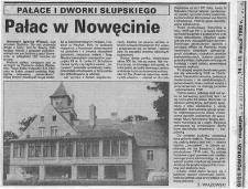 Pałac w Nowęcinie