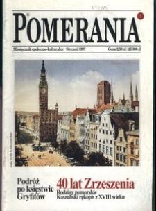 Pomerania : miesięcznik społeczno-kulturalny, 1997, nr 1