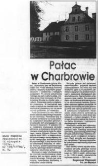 Pałac w Charbrowie