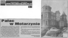 Pałac w Motarzynie
