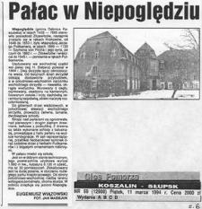 Pałac w Niepoględziu