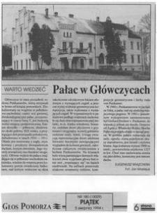 Pałac w Główczycach
