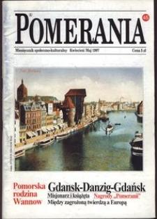 Pomerania : miesięcznik społeczno-kulturaln, 1997, nr 4-5