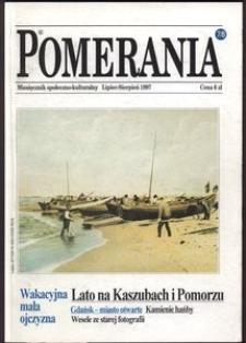 Pomerania : miesięcznik społeczno-kulturalny, 1997, nr 7-8