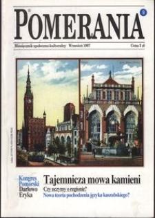 Pomerania : miesięcznik społeczno-kulturalny, 1997, nr 9