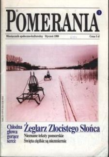 Pomerania : miesięcznik społeczno-kulturalny, 1998, nr 1