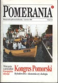 Pomerania : miesięcznik społeczno-kulturalny, 1998, nr 6
