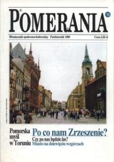 Pomerania : miesięcznik społeczno-kulturalny, 1998, nr 10
