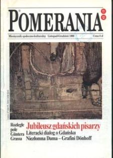 Pomerania : miesięcznik społeczno-kulturalny, 1999, nr 11-12