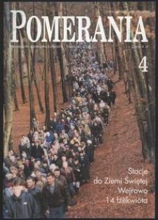 Pomerania : miesięcznik społeczno-kulturalny, 2000, nr 4