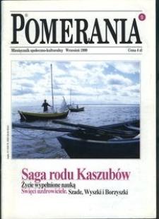 Pomerania : miesięcznik społeczno-kulturalny, 1999, nr 9