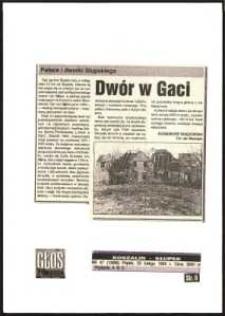 Dwór w Gaci