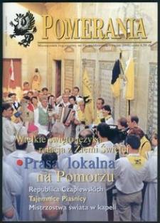 Pomerania : miesięcznik społeczno-kulturalny, 2000, nr 10