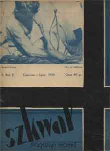 Szkwał : magazyn morski, 1934, nr 2