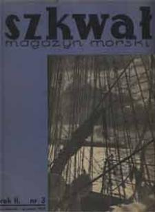Szkwał : magazyn morski, 1934, nr 3