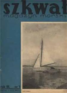 Szkwał : magazyn morski, 1935, nr 1