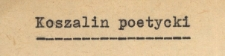 Koszalin poetycki