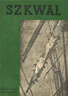 Szkwał : czasopismo Ligi Morskiej i Kolonjalnej, 1935, nr 5