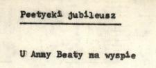 U Anny Beaty na wyspie