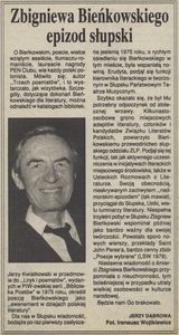 Zbigniewa Bieńkowskiego epizod słupski