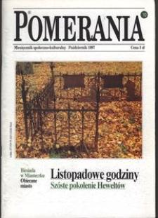 Pomerania : miesięcznik społeczno-kulturalny, 1997, nr 10