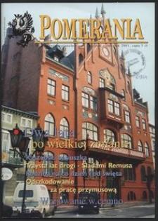 Pomerania : miesięcznik regionalny, 2001, nr 1