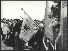 Uroczystości przy Krzyżu - Góra Pieszczaty, Bożyszkowy (2)