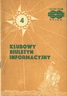 Klubowy Biuletyn Informacyjny, 1980-11
