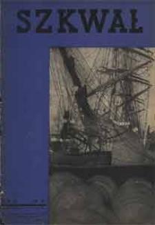 Szkwał : czasopismo Ligi Morskiej i Kolonjalnej, 1935, nr 8