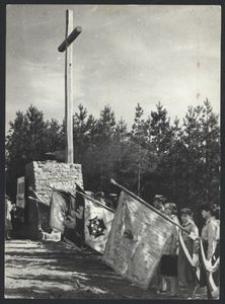 Uroczystości przy Krzyżu - Góra Pieszczaty, Bożyszkowy (3)