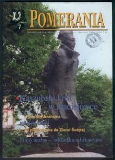 Pomerania : miesięcznik regionalny, 2001, nr 6