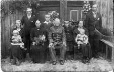 Rodzina Kazimierza Felskiego z Wierzchociny, parafia Borowy Młyn