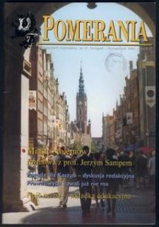 Pomerania : miesięcznik regionalny, 2001, nr 11