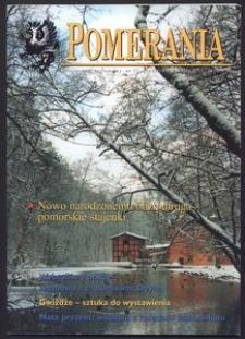 Pomerania : miesięcznik regionalny, 2001, nr 12