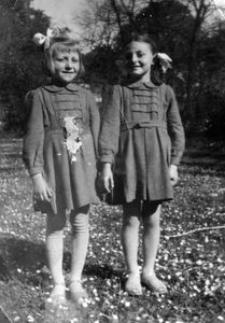 Siostry Lidia i Henryka Wołk