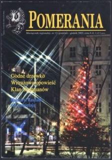 Pomerania : miesięcznik regionalny, 2003, nr 12