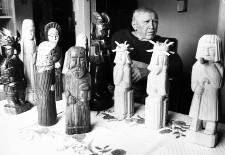 Rzeźbiarz Piotr Sakson (1909-1997)
