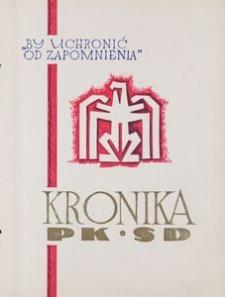 Kronika : Powiatowy Komitet Stronnictwa Demokratycznego (PK SD)