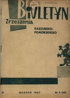 Biuletyn Zrzeszenia Kaszubsko-Pomorskiego, 1967, nr 5