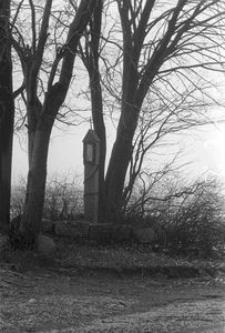 Kapliczka na słupie kamiennym - Łosienice [1]