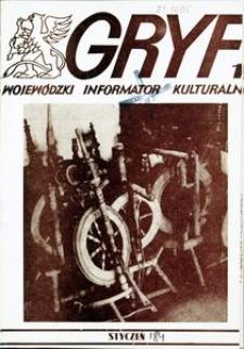 Gryf 1984, styczeń