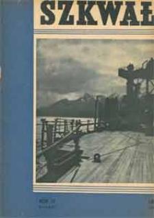 Szkwał, 1936, nr 1
