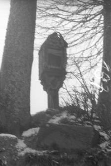 Kapliczka na słupie - Mojusz [1]